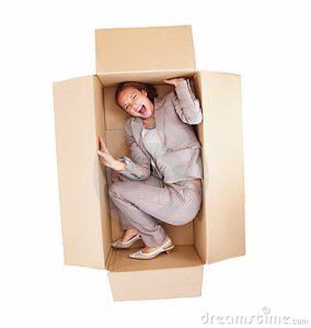 frustrated-business-woman-stuck-box-isolated-7145177